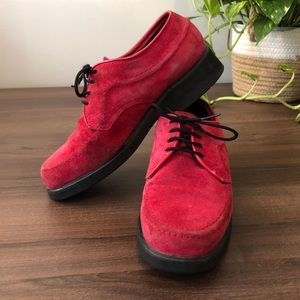 Hush Puppies | Vintage Red Shoes